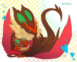 Noivern by Aishishi