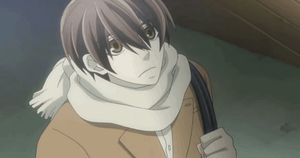 Takano holds Onodera's hand - Gif by Deathday94991313