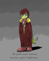 Concept Doodle: Wraith by prdarkfox