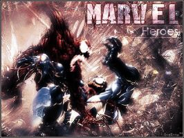 Marvel Heroes by X-Inferno-X