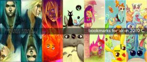 bookmarks for akon by Alicechan