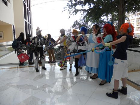 Kingdom Hearts Group at Katsucon 2013 by Hop-is-my-Hero