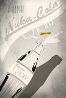 Nuka Cola Quartz Advertisement by LaggyCreations