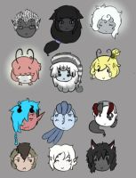 some of oceans babys by Ask-Olive-And-Oliver