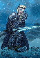 Frozen's Elsa as the Lich King by Micgrol