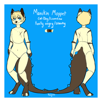 Manikin Moppet reference by Cervides