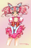 Chibi Moon.. after a long time by lauretta18