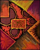 Abstract painting by beckic