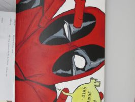 Deadpool Skateboard 2 by MUFC10