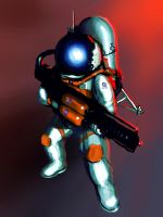 Rocket Trooper by Phasmageist