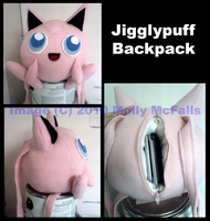 Jigglypuff Backpack by Tez-Taylor