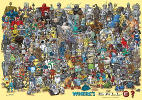 Where's Wall-E or Robots by legosrcool1000