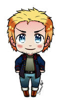 [APH][2p] Denmark chibi in another color by Smimon