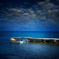 the little fishing boat.... by VaggelisFragiadakis