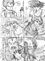 Goku's Surprise Attack by ViperXtreme