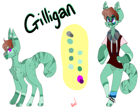 Gilligan ref by Illiterate-Swine