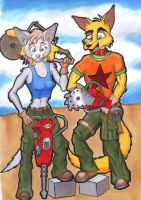 Wrecking Crew by OkamiNegative
