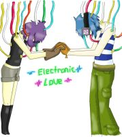 Electronic Love by n00dle-gurl06