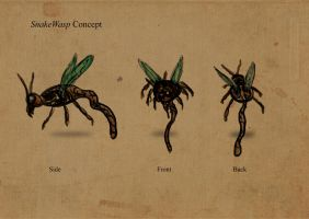 Snakewasp Concept by squidge16