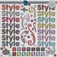 Styles: Fancy Chevron by HGGraphicDesigns