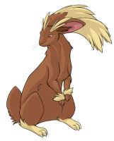...pogheys... Lopunny by Rainbow-Cemetery