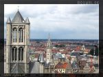 Ghent Skyline by bouwblok