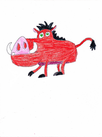 Pumbaa by DisneyDude-94