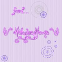 Font Holiday Home by Miky012