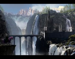 TLG Waterfall Castle 1920 desktop by rich35211