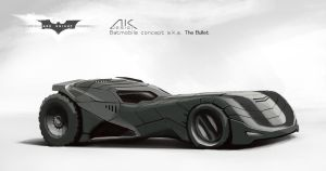 Batmobile concept by annaeus