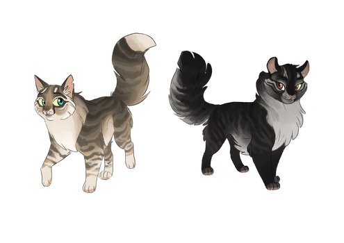 Siberian Cats adopts [CLOSED] by OwlCoat