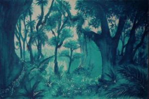 Turquoise Jungle by iruccha