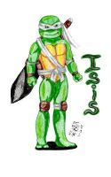 TMNT OC-Isis by IsisConstantine