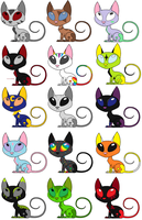 Free Kat Adopts :CLOSED: by Mysteeria