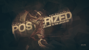 LeBron James Posterizes Ben McLemore by RafaelVicenteDesigns