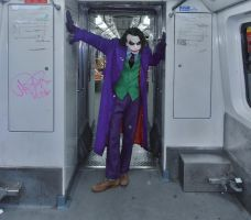 Joker Heath Ledger Cosplay V by AlexWorks