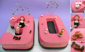 30th Party Cake by ginas-cakes