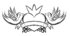 tattoo design in oC by hooka-pie