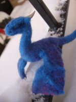 needle felted dragon 3 by Projectsubvert