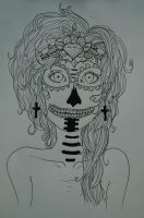 .:Sugar Skull:. by TheDreamfail
