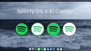 Spotify for OS X El Capitan by JasonZigrino