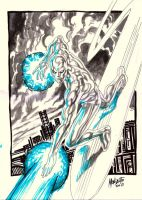 silver surfer by gammaknight