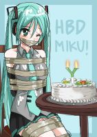 Happy Birthday Miku by jitan777