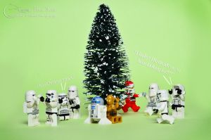 Lego Stormtroopers - Merry Christmas by Jbressi