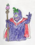 Rotten Eggplant Wizard by trexking45