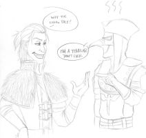 Anders meets Malfatto by PandaCookie013