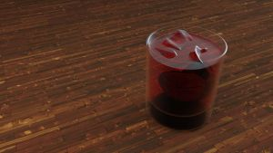 Iced Cold Coca Cola Render Model ~ Tuhin's Editing by tuhin98