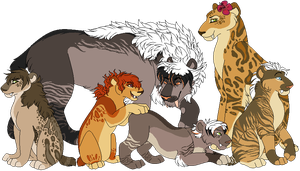 Family picture by Lufedelle