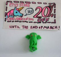 Cthulhu Pencil Topper by saaio