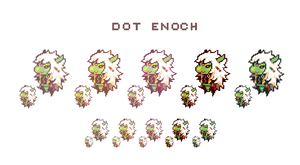 PKMNR, dot hack enoch by milkkun